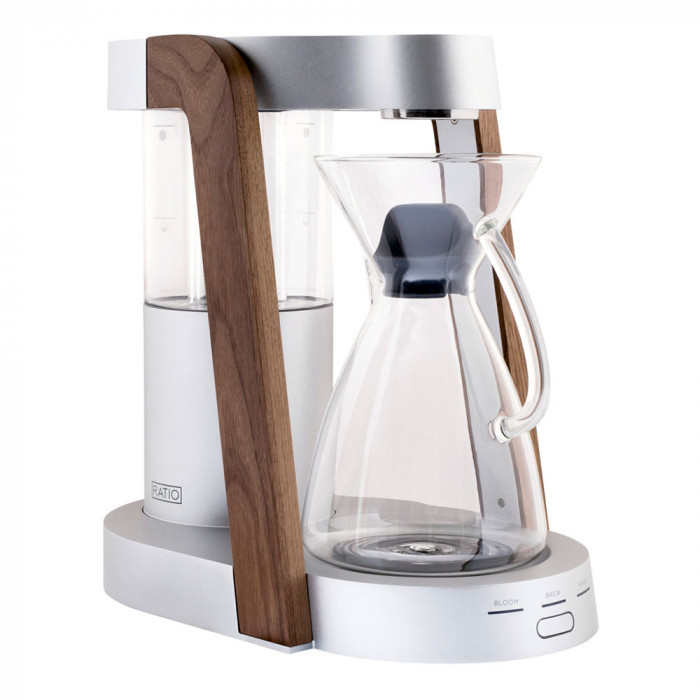 "Filter coffee maker Ratio ""Eight Bright Silver/Walnut"""