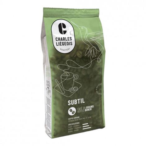 """Kohvioad Charles Liégeois """"Subtil"""", 250 g"""