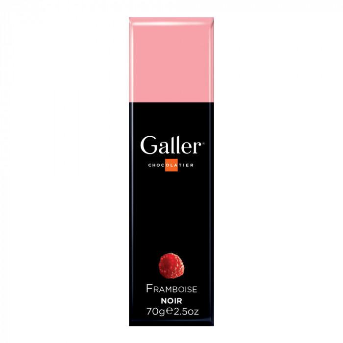 """Šokoladinis batonėlis Galler """"Dark Raspberry"""", 70 g"""