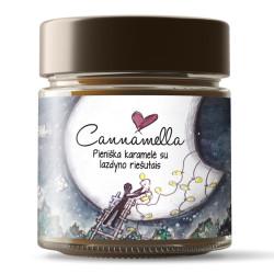 Pieniškos karamelės kremas su lazdyno riešutais Cannamella, 240 g