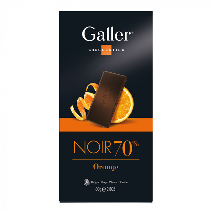"Czekolada Galler ""Dark Orange"", 80 g"