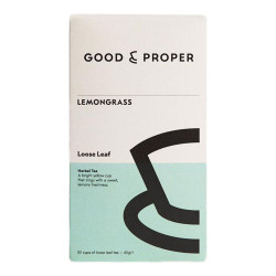 "Herbata ziołowa Good and Proper ""Lemongrass"", 45 g"