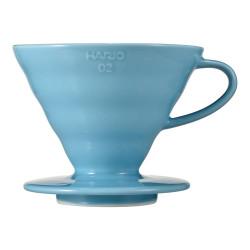"Ceramic coffee dripper Hario ""V60-02 Blue"""