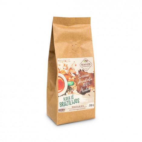 "Maltā kafija Kavos Gurmanai ""Brazil Yellow Bourbon"", 250g"