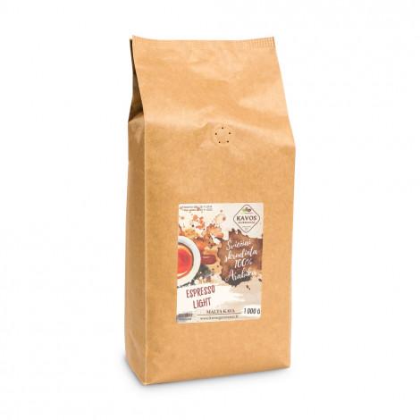 """Kafijas pupiņas Kavos Gurmanai """"Espresso Light"""", 1 kg"""