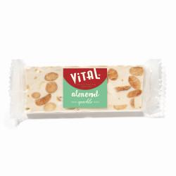 """Nuga batoniņš Vital """"Almond"""", 45 g"""