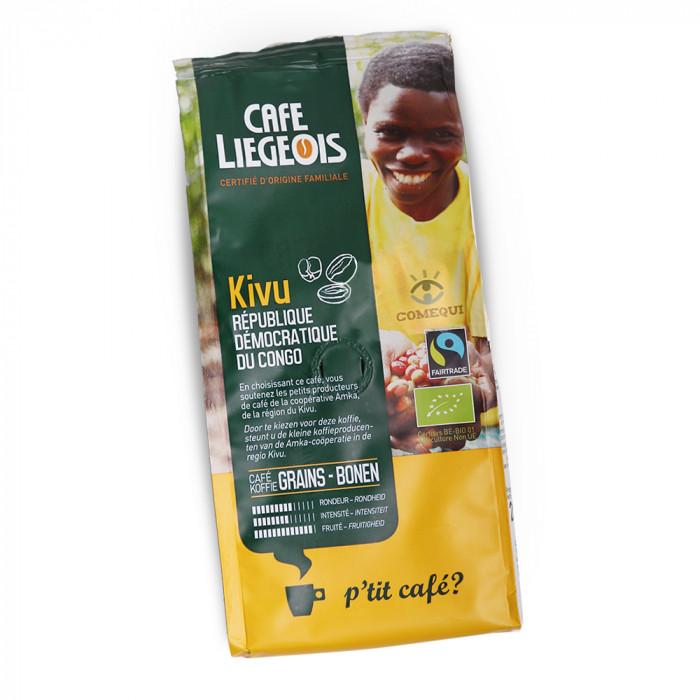 "Kavos pupelės Café Liégeois ""Kivu"", 250 g"