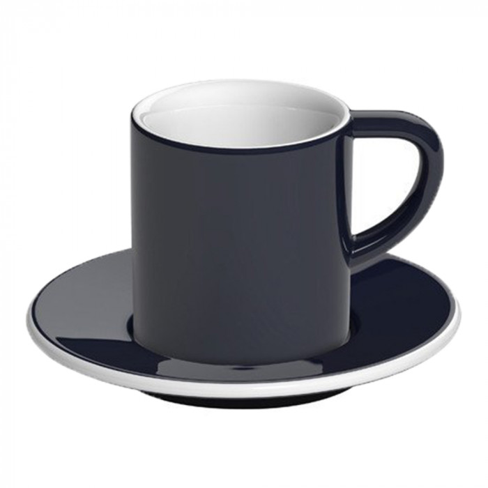 "Espresso cup with a saucer Loveramics ""Bond Denim"", 80 ml"