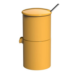 """Cukrinė su pieno indeliu Loveramics """"Bond Yellow"""", 90 ml"""