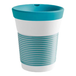 "Mug with a lid Kahla ""Cupit To Go Green Lagoon"", 350 ml"