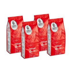 """Jahvatatud kohvi komplekt """"Puissant"""", 4 x 250 g"""