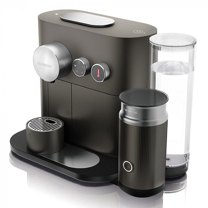 "Coffee machine Nespresso ""Expert&Milk Anthracite Grey"""