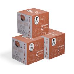 "Kawa w kapsułkach do Dolce Gusto® Charles Liégeois ""Cappuccino"", 3 x 8 + 8 szt."
