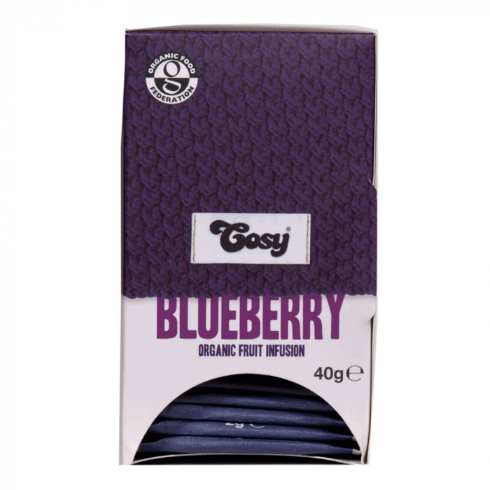 "Tēja Cosy ""Blueberry Organic"", 20 gab."