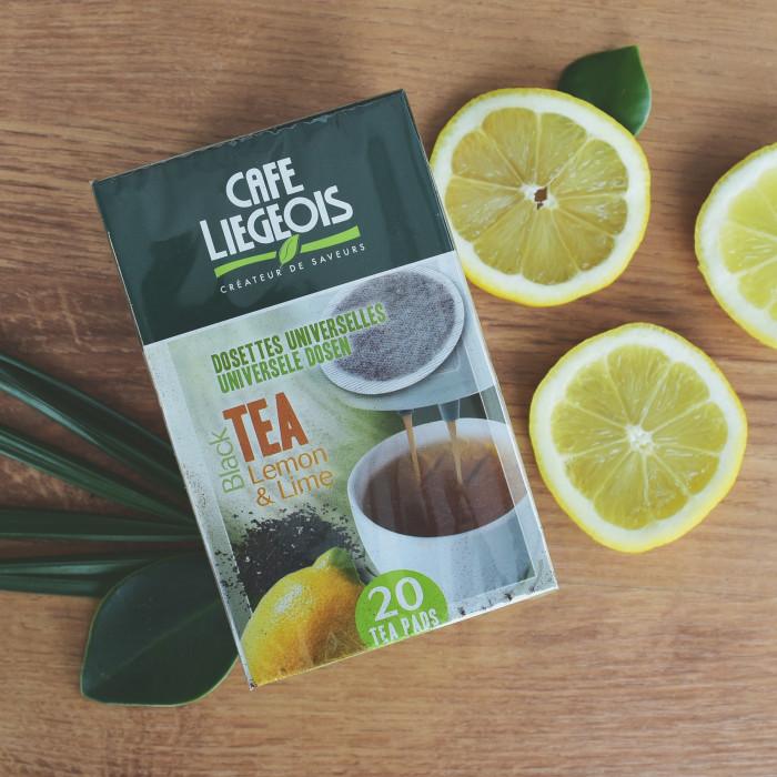 """Teepadjad Café Liegeois """"LEMON & LIME"""""""