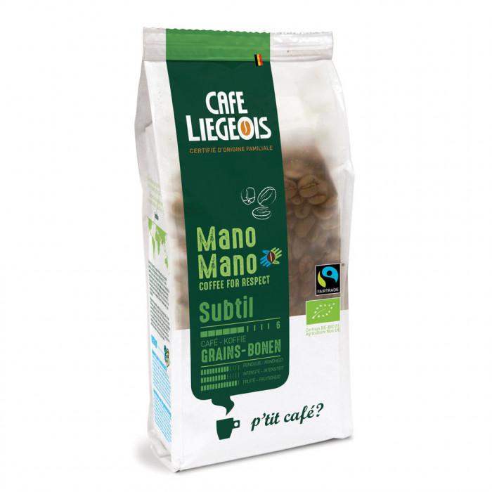 """Kafijas pupiņas Café Liégeois """"Mano Mano Subtil"""", 250 g"""
