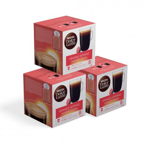 """Kaffeekapseln geeignet für Dolce Gusto®-Set NESCAFÉ Dolce Gusto """"Grande Intenso Morning Blend"""", 3 x 16 Stk."""