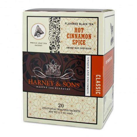 """Melnā tēja ar aromātiem Harney & Sons """"Hot Cinnamon Spice"""""""