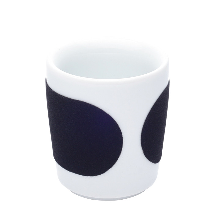 "Espresso cup Kahla ""Five Senses touch! Black"", 90 ml"