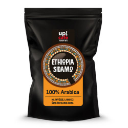 "Kawa ziarnista UPCAFE ""Ethiopia Sidamo"", 1 kg"