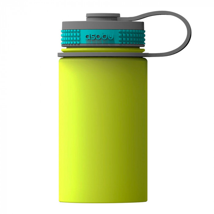 "Termospudel Asobu ""Mini Hiker Lime"", 355 ml"