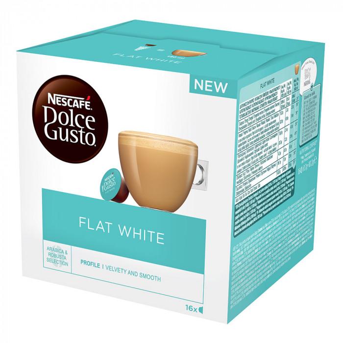 "Coffee capsules NESCAFÉ Dolce Gusto ""Flat White"", 16 pcs."