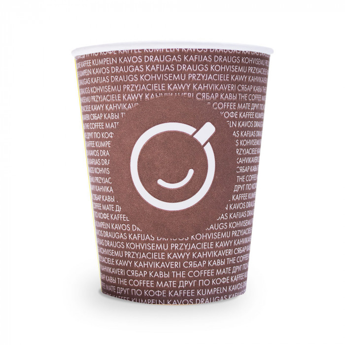 Paper cups, 300 ml, 50 pcs.