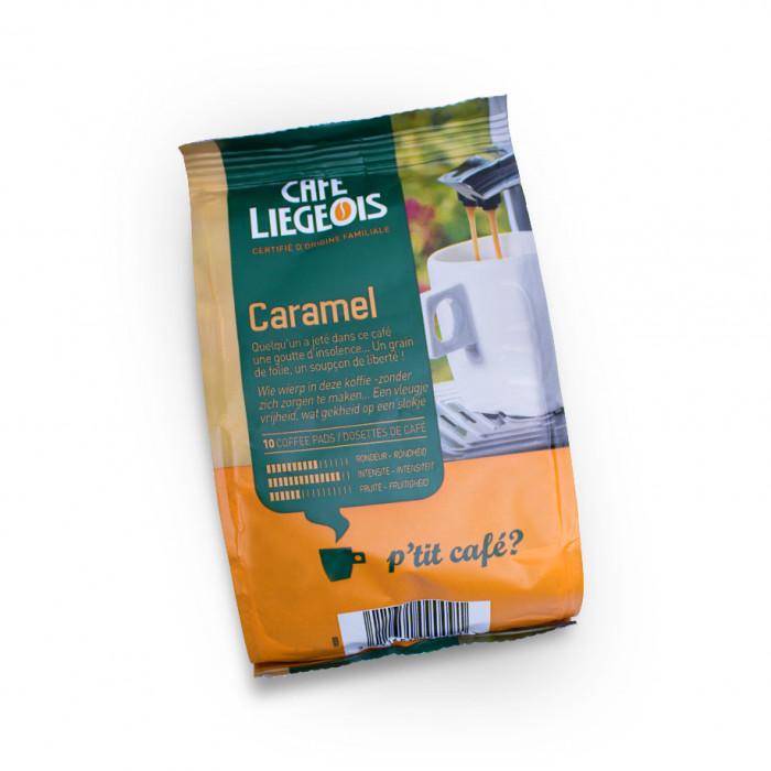 "Kafijas spilventiņi Café Liégeois ""Caramel"", 10 gab."