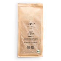 """Kaffeebohnen Kronen Kaffee """"Bio Crema"""" 1 kg"""