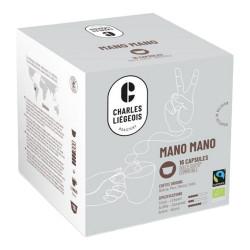 """Kafijas kapsulas Dolce Gusto® automātiem Charles Liégeois """"Mano Mano"""", 16 gab."""