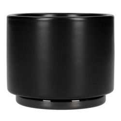 "Cappuccino cup ""Fellow Monty Milk Art Matte Black"", 190 ml"