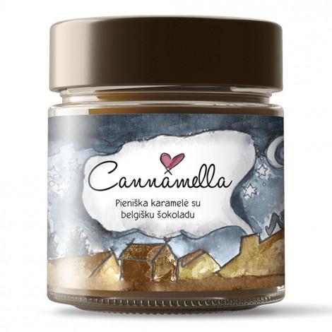 Krem karmelowy z belgijską czekoladą Cannamella, 240 g