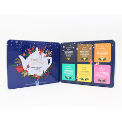 "Teede komplekt English Tea Shop ""Premium Holiday Collection Blue Gift Tin"", 36 tk."