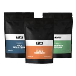 "Kaffeebohnen AGÁTA Rösterei ""Probierpaket AGÁTA Espresso"", 3 x 250 g"