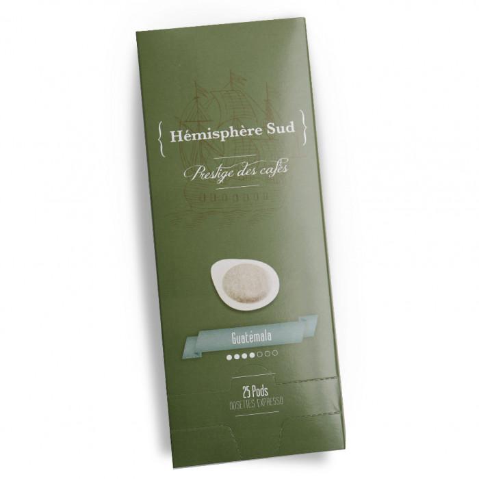 """Kavos tabletės Hémisphère Sud """"Guatémala"""", 25 vnt."""