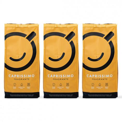 "Kaffeebohnen-Set ""Caprissimo Fragrante"", 3 x 250 g"