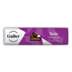 """Šokolādes batoniņš Galler """"Dark Café Liégeois"""", 65 g"""