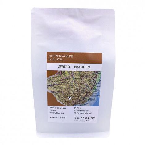 """Kaffeebohnen Hoppenworth & Ploch Kaffeerösterei """"Espresso Sertao-Brasilien"""", 250 g"""
