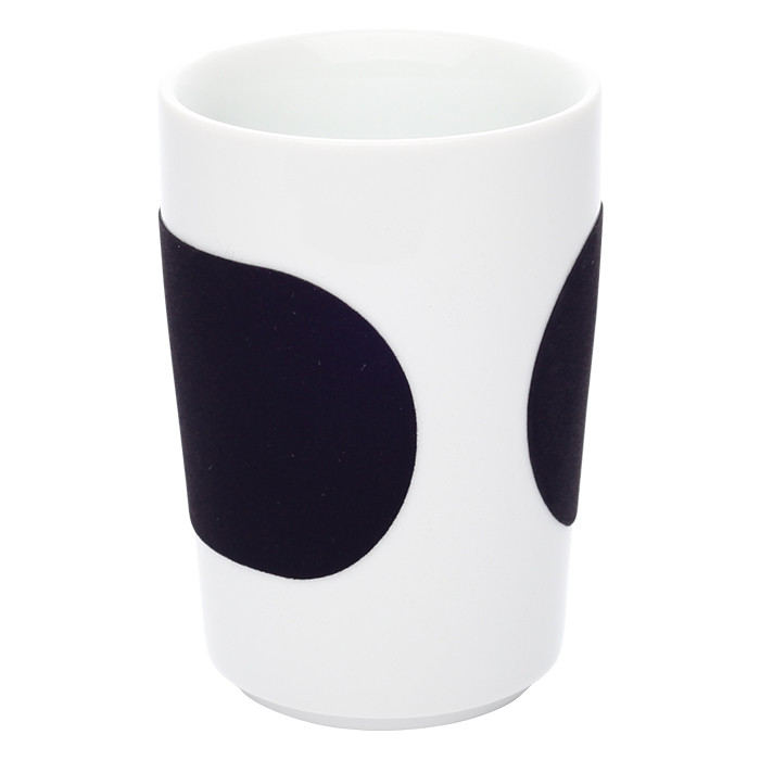 "Tasse Kahla ""Five Senses touch! Black"", 350 ml"