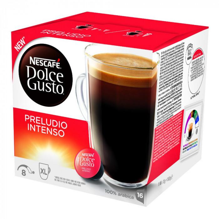 """Coffee capsules NESCAFÉ Dolce Gusto """"Preludio Intenso"""", 16 pcs."""