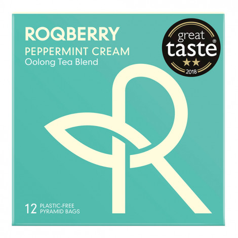 "Herbata Roqberry ""Peppermint Cream"", 12 szt."