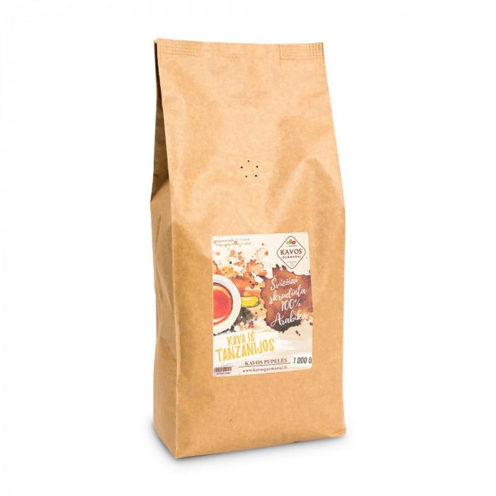"Kohvioad Kavos Gurmanai ""Tanzania AA"", 1 kg"
