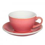 "Cappuccino-tass koos alustassiga Loveramics ""Egg Berry"", 200 ml"