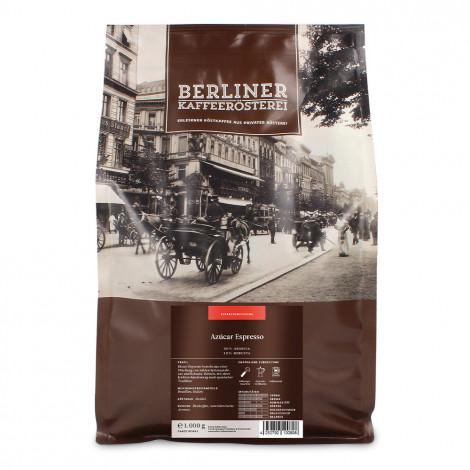 """Kaffeebohnen Berliner Kaffeerösterei """"Espresso Azucar"""", 1 kg"""