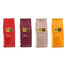 """Kaffeebohnen-Set Alps Coffee """"Set für Vollautomaten"""", 4 x 500 g"""