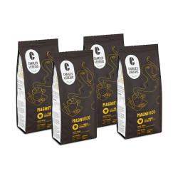 """Jahvatatud kohvi komplekt """"Magnifico"""", 4 x 250 g"""