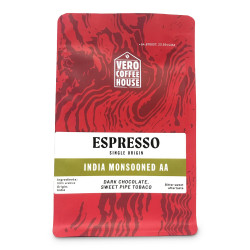 "Ground coffee Vero Coffee House ""India Monsooned AA"", 200 g"