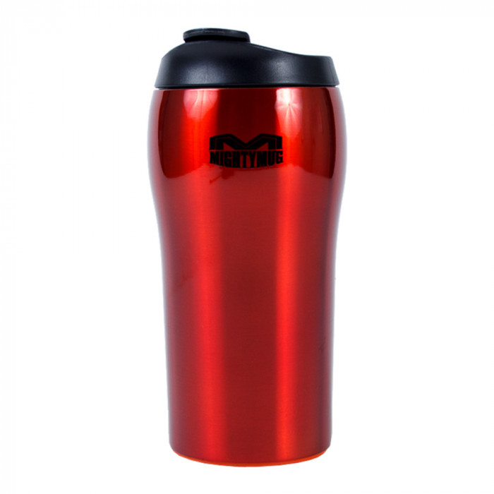 "Thermo cup The Mighty Mug ""Solo Stainless Steel Red"""