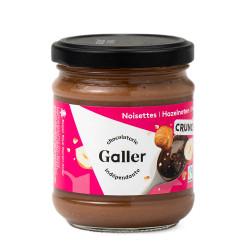 """Kraukšķīgs lazdu riekstu krēms Galler """"Crunchy Hazelnut"""", 200 g"""