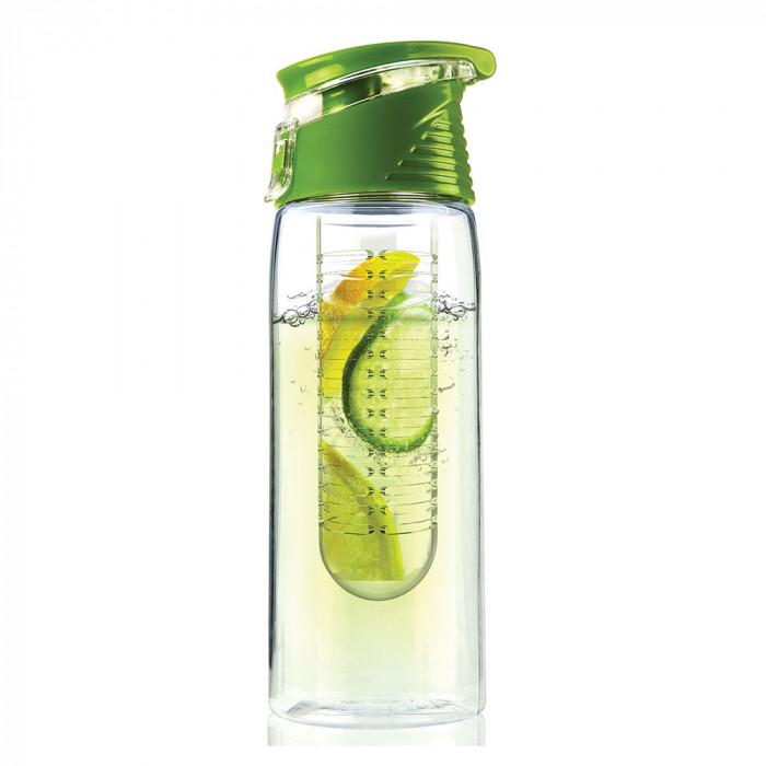 "Ūdens pudele Asobu ""Flavour 2 Go Lime"", 600 ml"